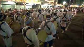 2012 徳島 葵連 鳴り物だけで50人超!徳島阿波踊り