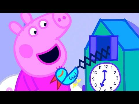 Peppa Pig Full Episodes | Cuckoo Clock | Cartoons for Children