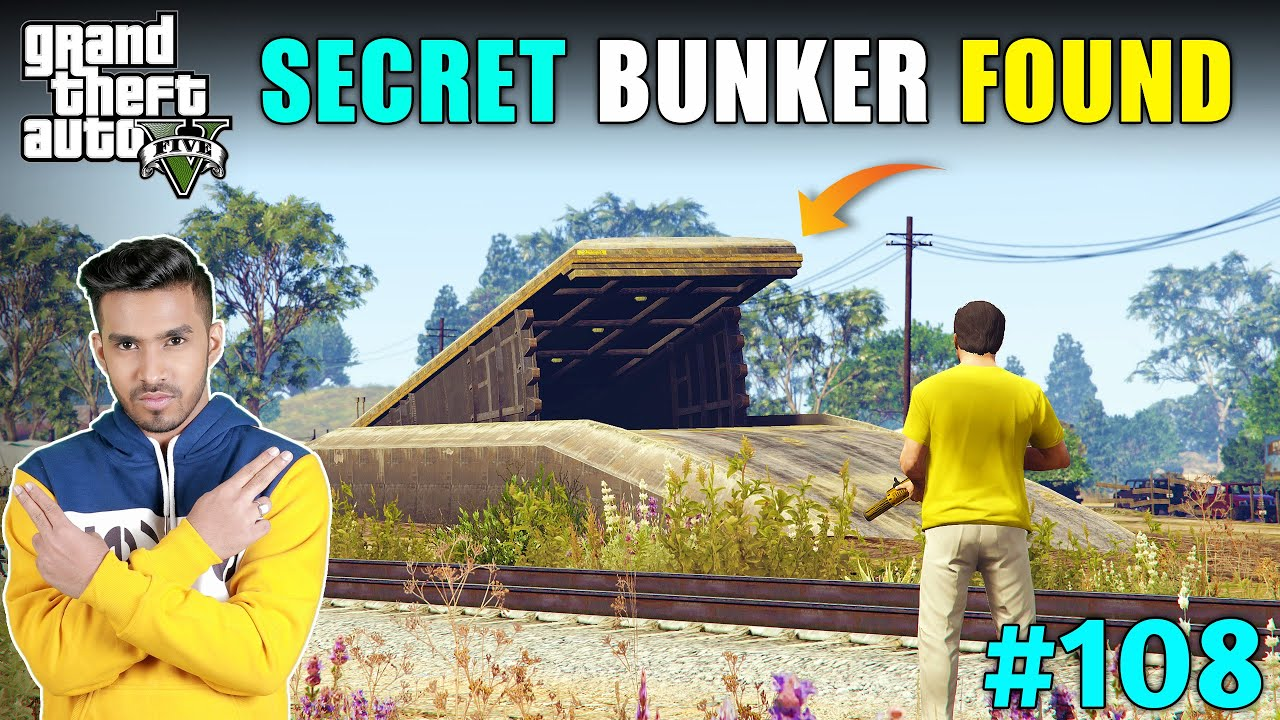 MAFIA'S SECRET BUNKER FOUND | GTA V GAMEPLAY #108