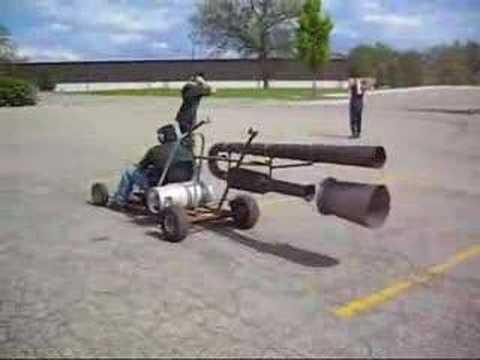 Pulse Jet Go Kart For Sale Sold Youtube
