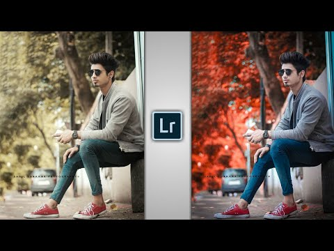 Lightroom Orange Effect Photo Editing 🔥| Lightroom Photo Editing | Lightroom Editing | SAMIM EDITZ