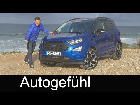 Ford EcoSport ST-Line AWD FULL REVIEW 2018: all-new or Facelift? - Autogefühl
