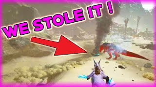 WE STOLE THEIR GIGAS AND RED OSD LOOT !   Official 6 Man   ARK Survival Evolved Gameplay
