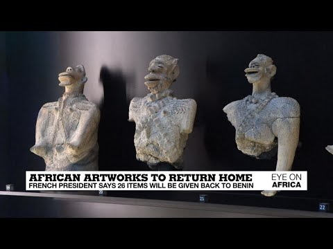 African artworks return home: Dozens of items displayed in F
