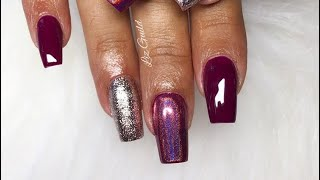 Acrylic Nails | Acrylic Infill And Gel Polish Application