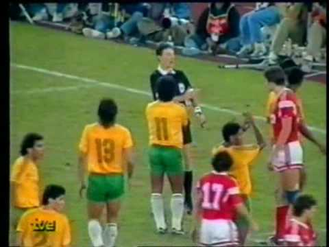 Olympic Football 1988 Soviet Union - Brazil 01 October 1988 extra time