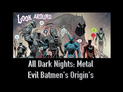 All 7 Evil Batmen Origins From Dark Nights: Metal