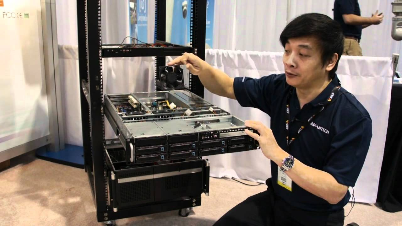 Isc West 2012 2u Rugged Rackmount Server Chassis Hpc