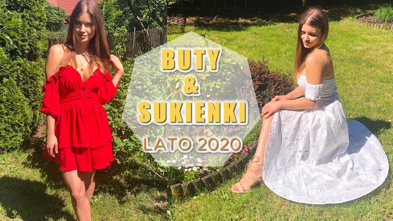 SUKIENKI I BUTY NA LATO 2020
