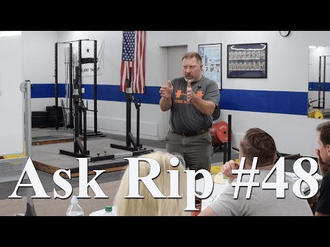 Hard strength programs and mass appeal | Ask Rip #48