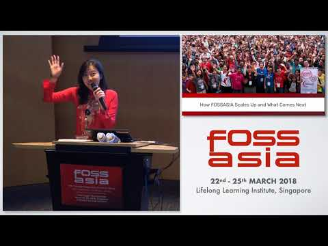 How FOSSASIA Scales Up and What Comes Next - Hong Phuc Dang-