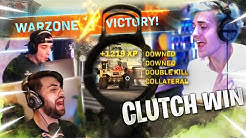 CLUTCHING UP W/ @SypherPK  & @Cloakzy COLLATERAL KILLS INBOUND!