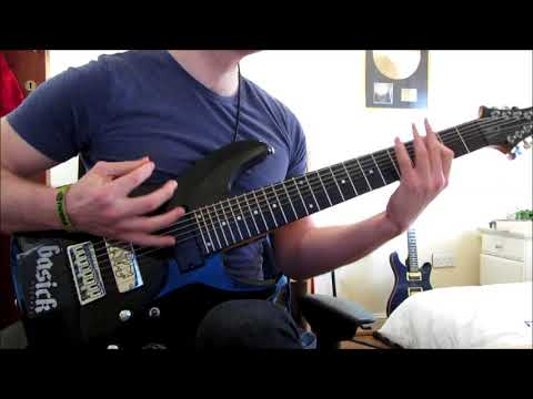 celestial fury: drop e 8 string song