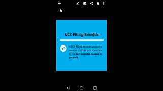 The Benefits of Filing a UCC-1
