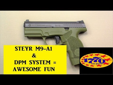 STEYR M9-A1 & DPM SYSTEM = PRETTY DARN GOOD - YouTube