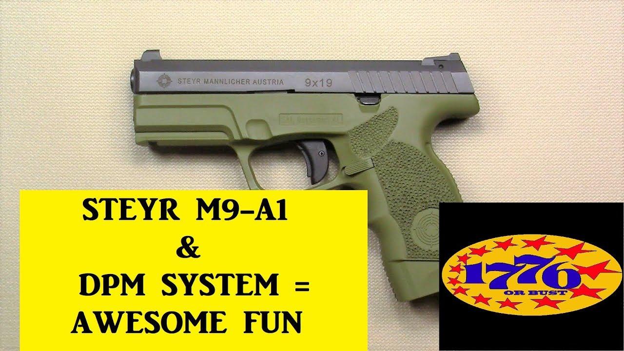 Steyr M-A1 -2 часть - YouTube