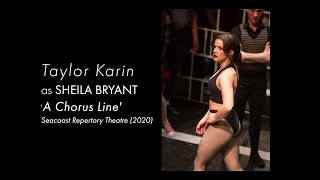 Taylor Karin as Sheila in A Chorus Line