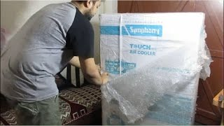 Unboxing and Review Symphony Touch 110 Cooler Latest 2017 Model