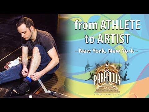 Trampoline Champion Turned into Broadway Star | Athlete to Artist | Paramour | Cirque du Soleil