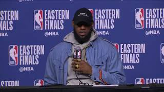 LeBron James Postgame Press Conference | Celtics vs Cavaliers Game 7 | May 27, 2018