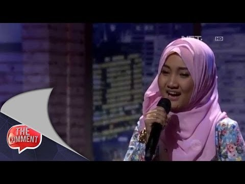 The Comment - Penampilan Fatin Menyanyikan Lagu Dia Dia Dia
