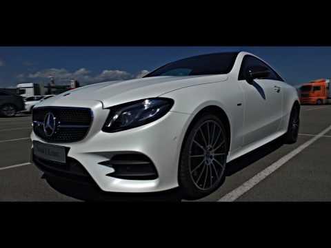 Тизер к Тест Драйв Нового Mercedes Benz E class Coupe
