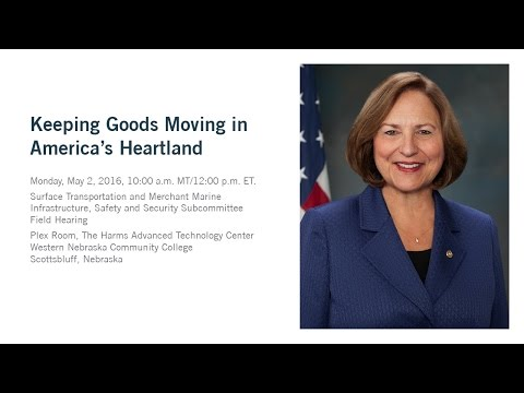 WNCC Hosts Keeping Goods Moving in America's Heartland w/ Deb Fischer