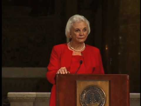Harry's Last Lecture: Justice Sandra Day O'Connor