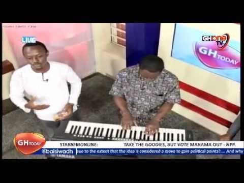 THE GHANA NATIONAL PLEDGE SANG BY BEN ADJEI ON GHONE TV