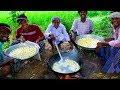 SWEET RASGULLA | Indian Dessert Recipe Cooking in Village | Milk Sweet Rasgulla Making Process