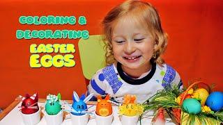 ★ Sonja farba jaja za Uskrs | Bojenje i dekoracija jaja - Pintura y decoración huevos de Pascua
