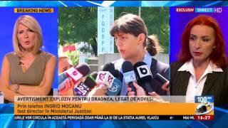 Ingrid Mocanu, avertisment exploziv pentru Liviu Dragnea legat de Laura Codruţa Kovesi
