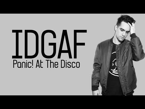 Dua Lipa - IDGAF (Panic! At The Disco cover) [Full HD] lyrics