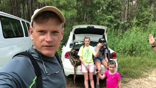 Friedriech's Ataxia hiking in the Sam Houston National Forest