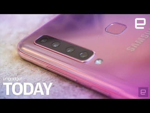 Samsung really made a phone with four rear cameras  | Engadget Today