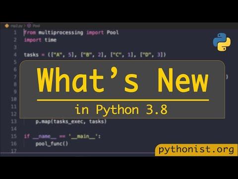 What's New In Python3.8?   Python Tutorials