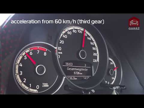 Volkswagen Up! GTI – Acceleration 0 – 100km/h and 60 – 120 km/h