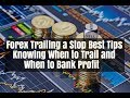 Forex Trailing Stop Loss  Strategy & Take Profit Tips