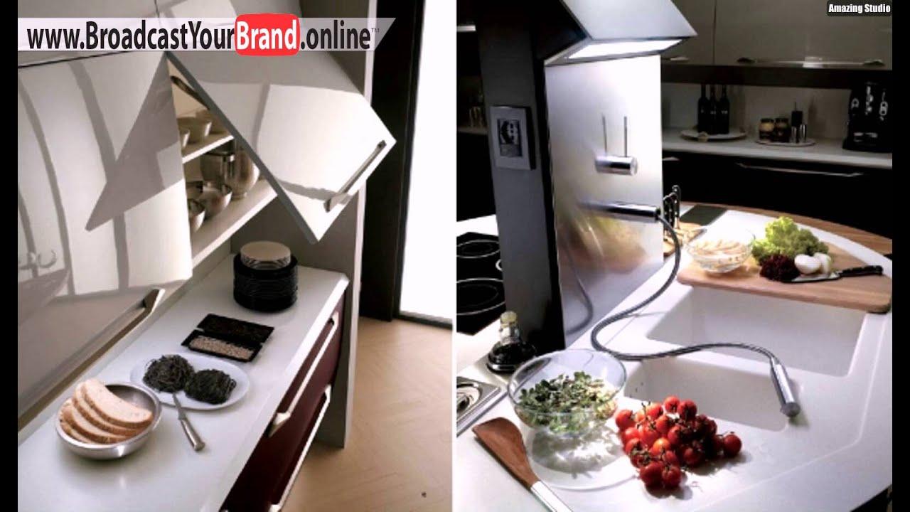 Runde Kochinsel Moderne Küchen Scavolini - YouTube | {Landhausküchen mit kochinsel 25}