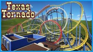 Texas Tornado: Six Flags Astroworld Recreation! Coaster Spotlight 535 #PlanetCoaster