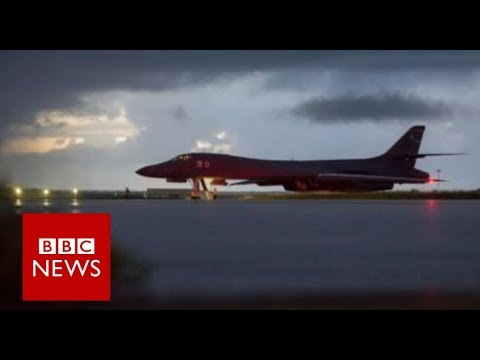 North Korea: US bombers stage show of force - BBC News
