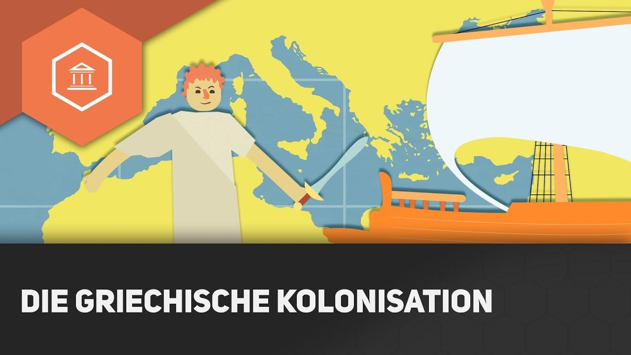 Die griechische Kolonisation - Die Gesellschaft im antiken ...