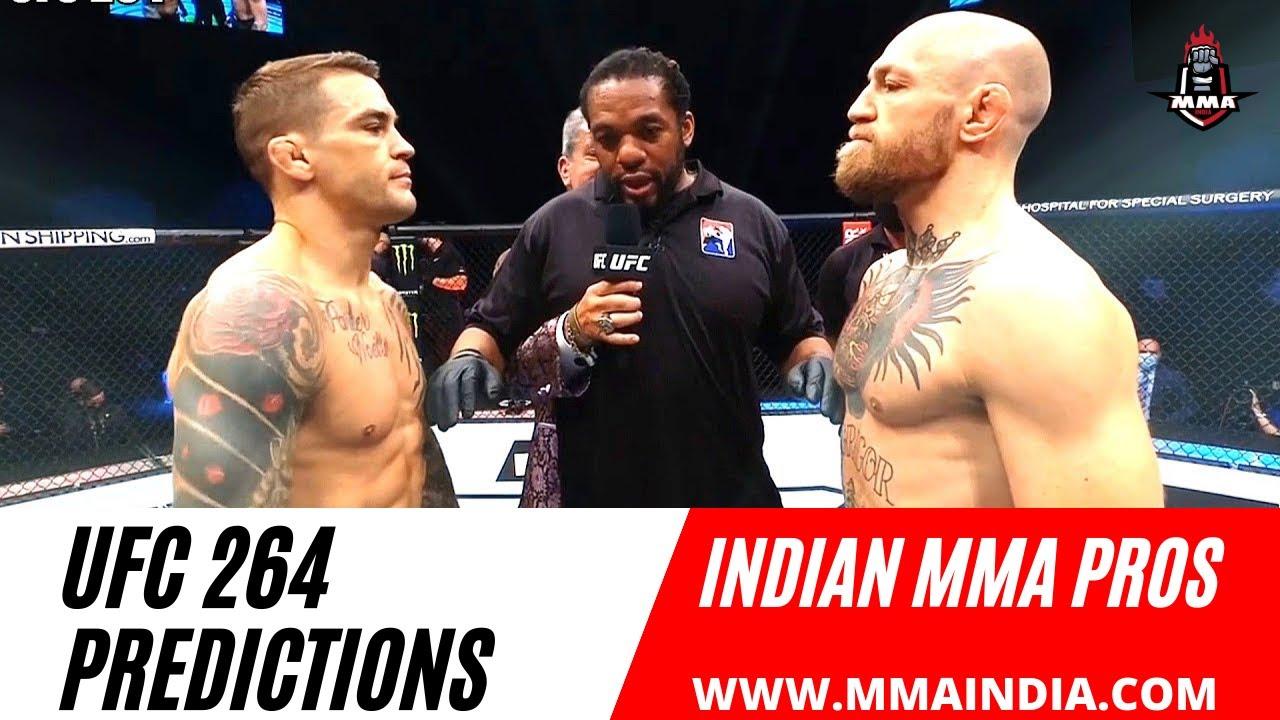 Conor Mcgregor vs Dustin Poirier 3 Predictions | Indian MMA Pros |  UFC 264 | MMA India Show