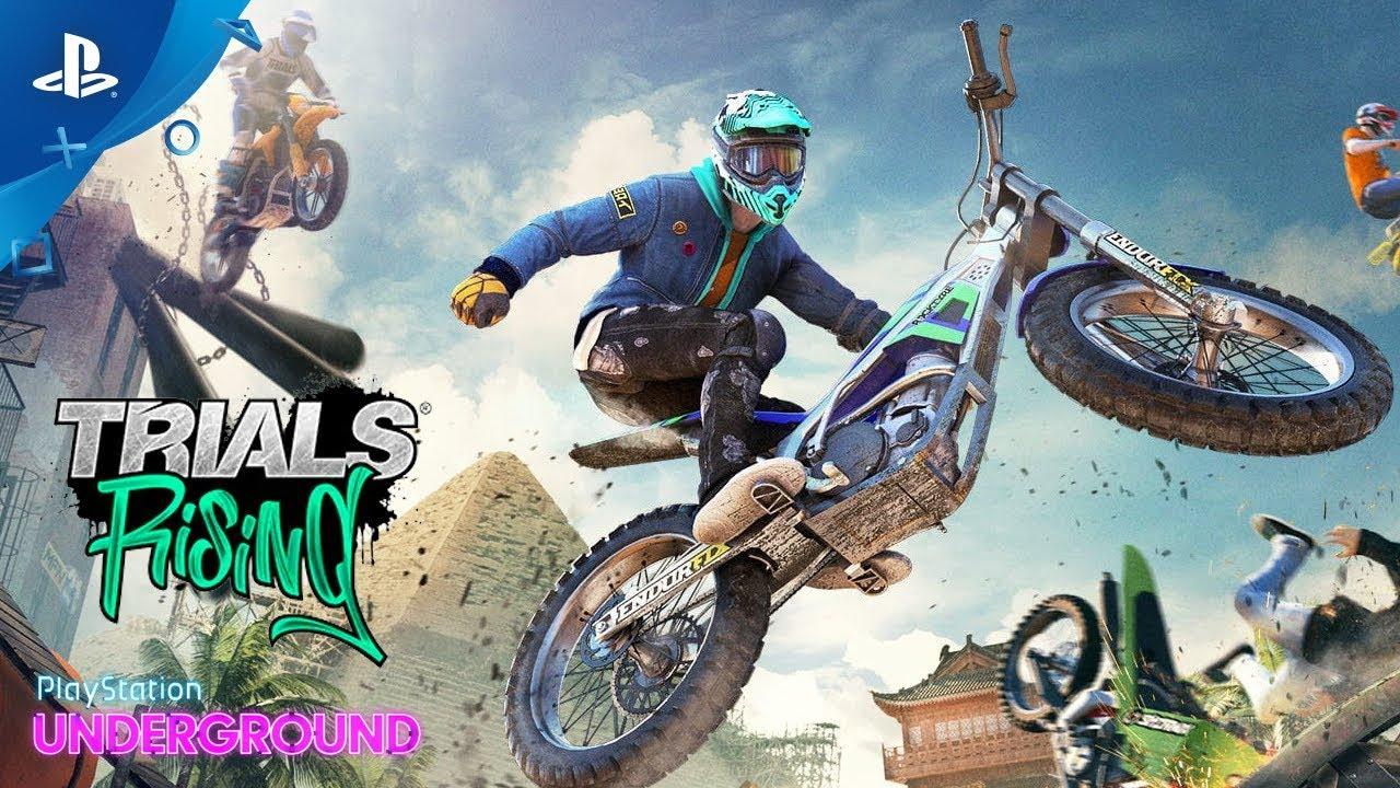 Trials Rising Gameplay - PlayStation Underground