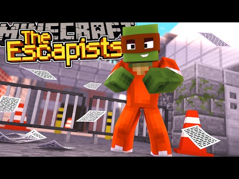 Minecraft Adventure Escapists - TINYTURTLE NEEDS TO ESCAPE FROM PRISON!