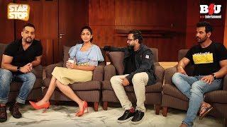 Batla House - Exclusive Interview   John Abraham , Mrunal Thakur & Nikkhil Advani