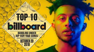 Baixar Top 10 • US Bubbling Under Hip-Hop/R&B Songs • October 20, 2018 | Billboard-Charts