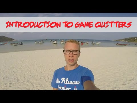 Welcome to Game Quitters - A Message From Cam Adair