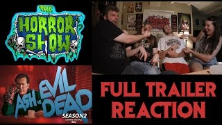 """""""Ash vs. Evil Dead"""" Season 2 FULL TRAILER Reaction - The Horror Show"""
