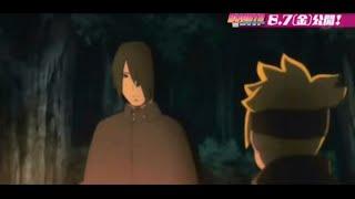 Boruto and Sasuke talk about Naruto (English subs CC) (BORUTO:NARUTO THE MOVIE)